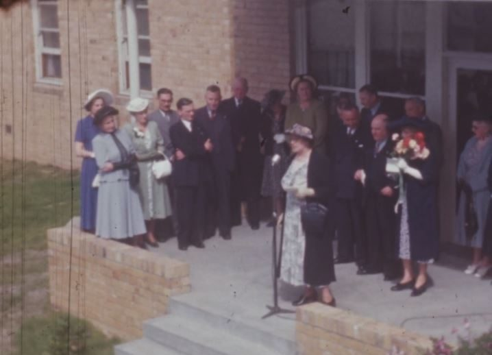 Opening of Uncle Bobs Club Nurses' Home