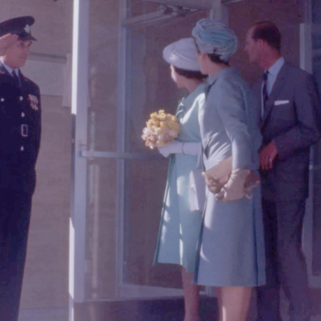 Open & Closed: A Royal Opening, 1963
